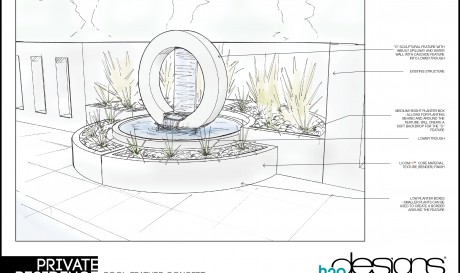 Custom Designed Water Feature Amp Planter Boxes In A Modular