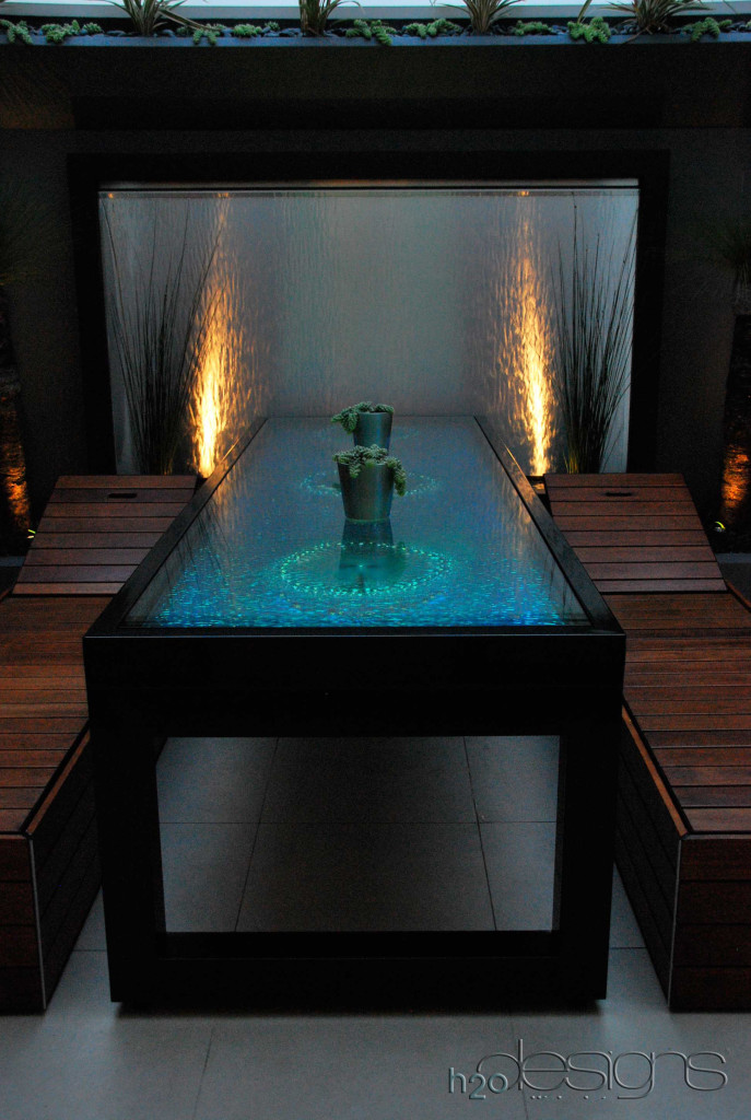 Docklands Residential Project - H2O Designs water feature with LICOM76™ - Maintenance