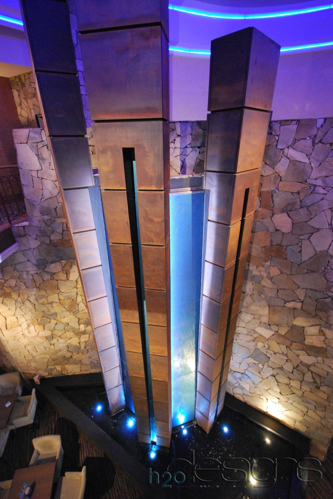 Ryde Eastwood Leagues Club - H2O Designs water feature with LICOM76™ - Maintenance