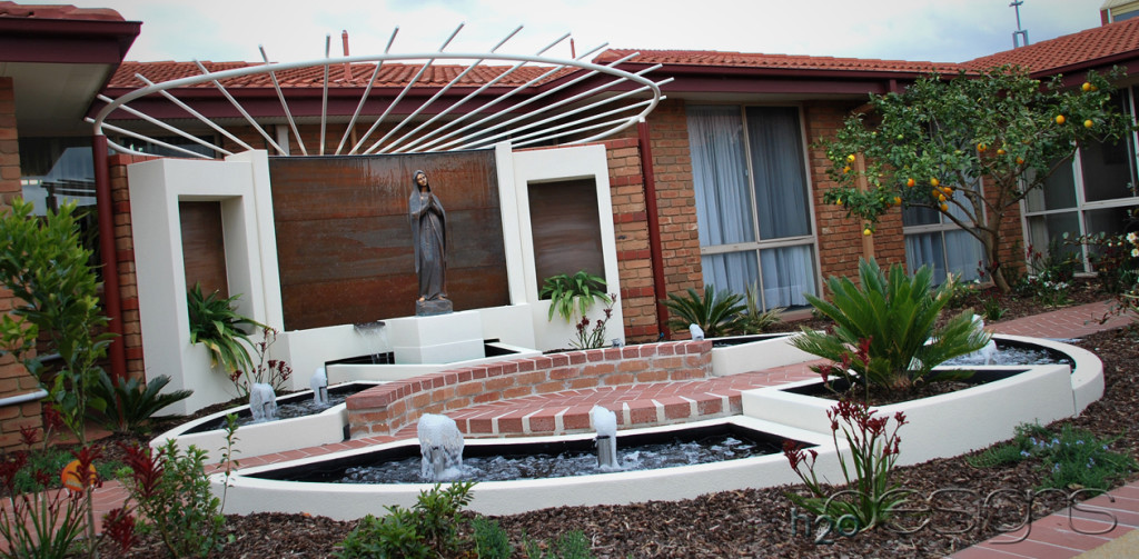 Rosary Home Aged Care - H2O Designs water feature with LICOM76™ - Maintenance