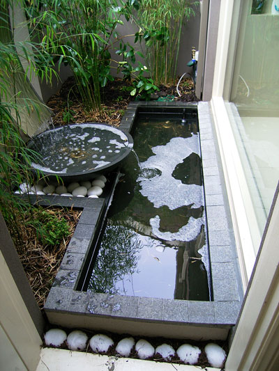 h2o designs Courtyard Water Feature with LICOM76 lightweight concrete